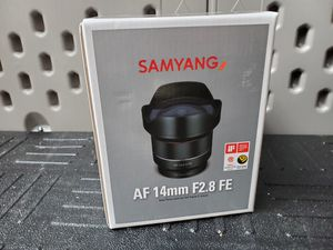 Samyang AF 14mm F2.8 FE Camera Lens for Sale in El Monte, CA
