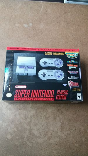 Super Nintendo SNES Classic Edition Video Game System for Sale in Oakland Park, FL