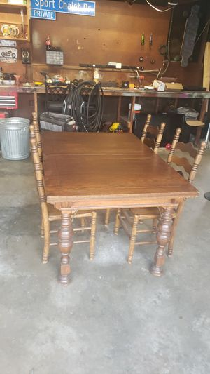 Wooden antique table for Sale in Burbank, CA