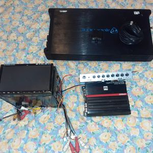 Amplificador dual i rockville radio epicenter sub woffer for Sale in Baltimore, MD