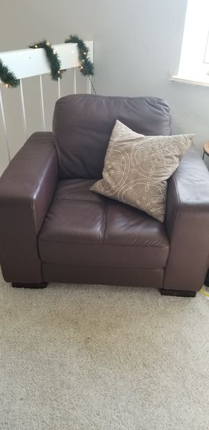 Leather chair for Sale in Littleton, CO