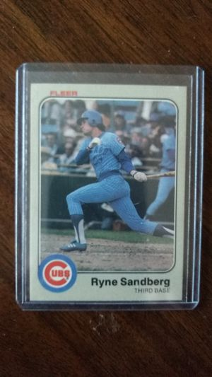 Ryne Sandberg Rookie for Sale in Clarksville, IN