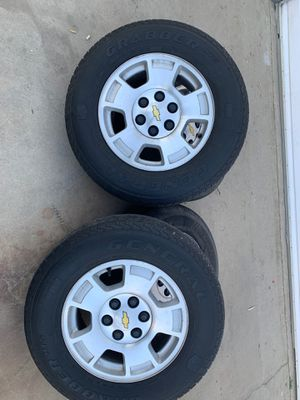 Chevy stock rims 17s for Sale in Bakersfield, CA