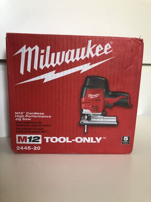 Milwaukee New JIG SAW M12 (tool only) Nuevo for Sale in Los Angeles, CA