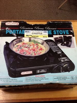 CHEF MASTER PORTABLE BUTANE BRASS STOVE BURNER. for Sale in West Palm Beach, FL