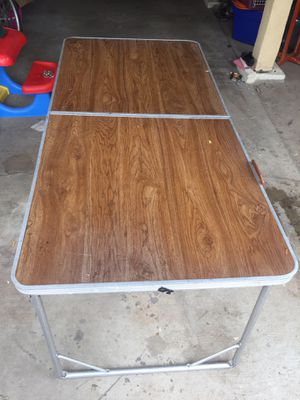 Durable Steel and Aluminum Table for Sale in Norwalk, CA