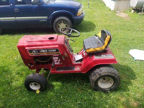 Lawn cheif tractor