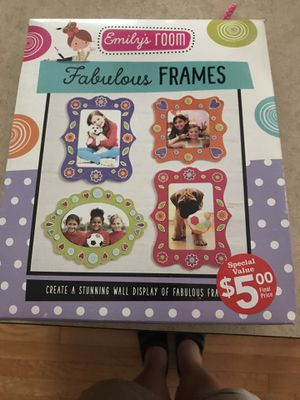 Craft Kids frame making kit - keep em busy!! for Sale in Milford, OH