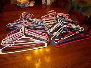 Assorted Plastic Clothes Hangers Lot for Sale in Lanham, MD