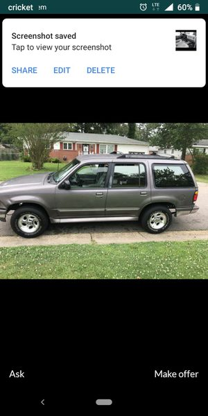 95 Ford explorer stick shift runs great for Sale in Virginia Beach, VA