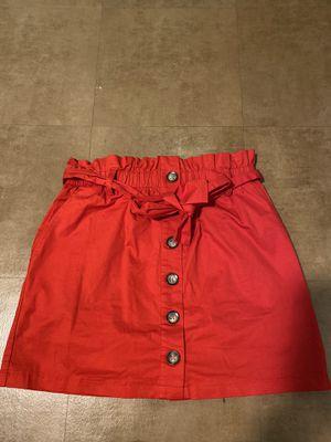 Red forever 21 skirt for Sale in Houston, TX