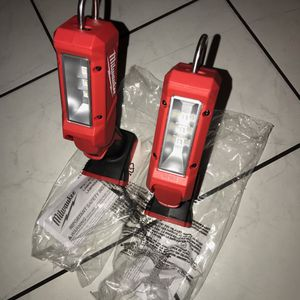 Milwaukee M18 LED Sticklight 140 Lumens . Bare Tool .solo Lampara !!.$40 Price Firm .each One for Sale in Garden Grove, CA