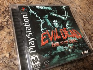 Evil Dead Ps1 game for Sale in Riverside, CA