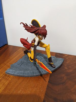 RWBY Pyrrha Nikos Figure Figurine Anime Rooster Teeth Mcfarlane Toys Manga for Sale in San Mateo, CA