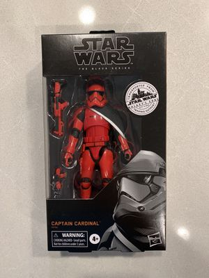 Captain Cardinal Black Series Figure Star Wars Galaxy's Edge Trading Post Target Exclusive E9700 Disney Hasbro for Sale in Flower Mound, TX