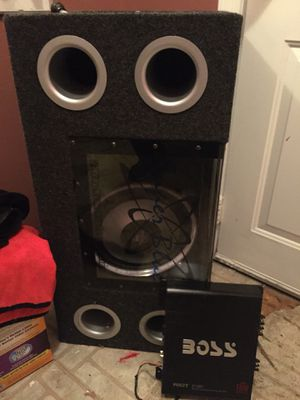 Speaker and amplifier boss for Sale in Bowie, MD