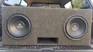 Ported speaker box for Sale in Lakeland, FL