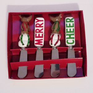 NEW! ST. Nicholas Square Butter/Cheese Spreader- set of 4 for Sale in Corona, CA