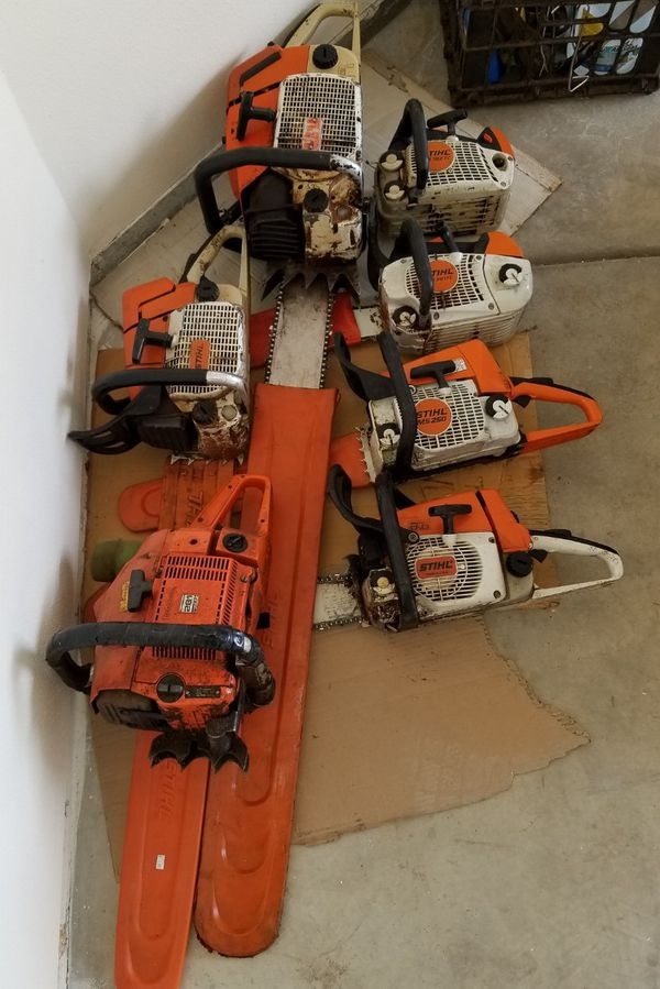 Looking to buy stihl and husqvarna chainsaws