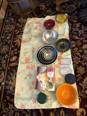 Kitchen various items including mixing bowls and storage containers for Sale in Denver, CO