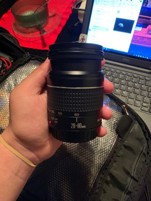 28-80mm lens canon for Sale in Manteca, CA