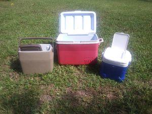 4 coolers for Sale in Loxahatchee, FL
