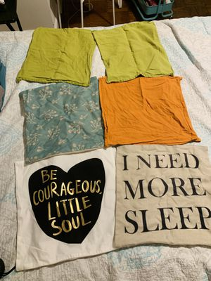 Pillow/cushion covers for Sale in Arlington, VA