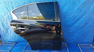 INFINITI Q50 REAR RIGHT PASSENGER SIDE DOOR BLACK for Sale in Fort Lauderdale, FL