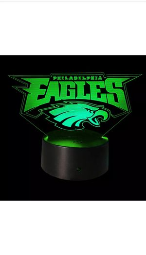 Philadelphia Eagles NFL Logo Light for Sale in West Berlin, NJ