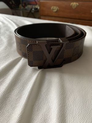 Louis Vuitton Men's Belt Damier Print Ebene Buckle for Sale in Cleveland, OH