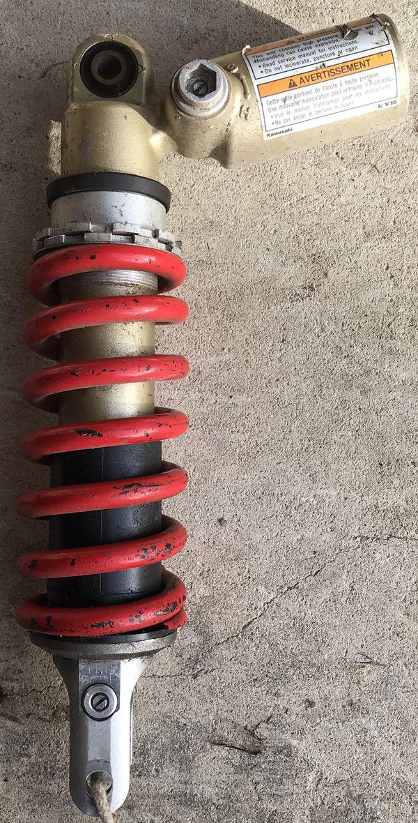 Kawasaki Zx10 rear shock