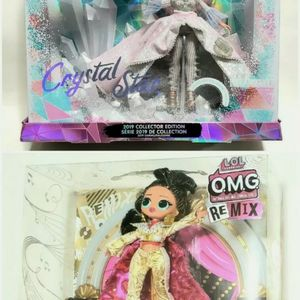 LOL Surprise Doll - OMG REMIX Jukebox BB 2020 & Crystal Star 2019 Collector Edition for Sale in Dearborn, MI