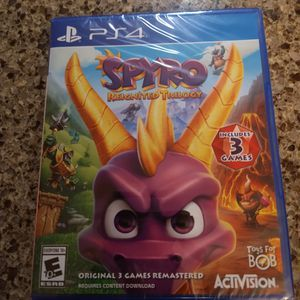 Playstation 4 Game Spyro Reignited Trilogy for Sale in Vancouver, WA