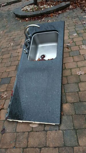 Granite countertop with sink, faucet and soap dispenser for Sale in Jackson, NJ