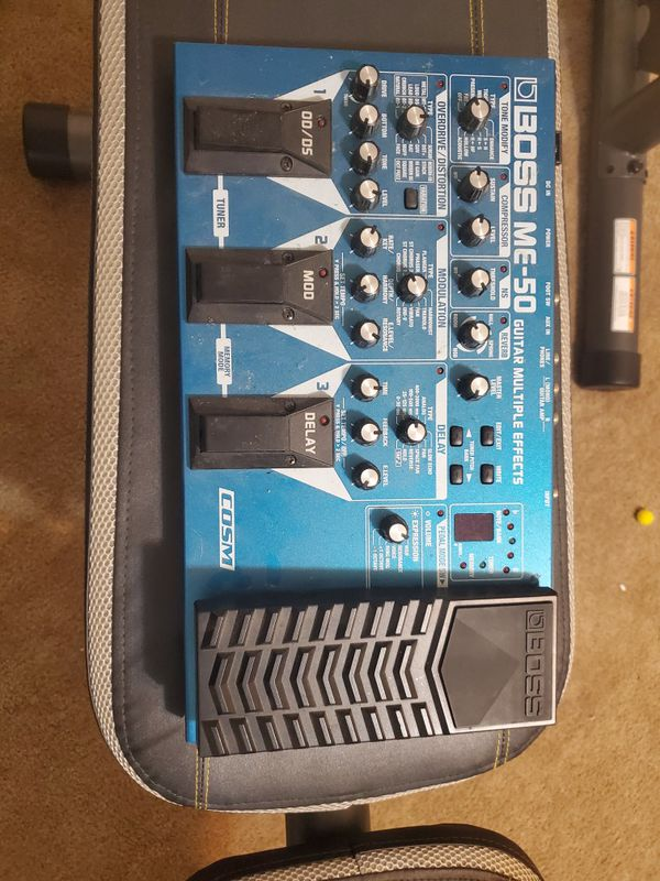 Boss ME-50 guitar effects pedal
