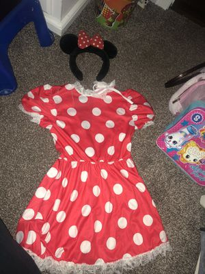 Minnie Mouse ears and dress for Sale in La Puente, CA