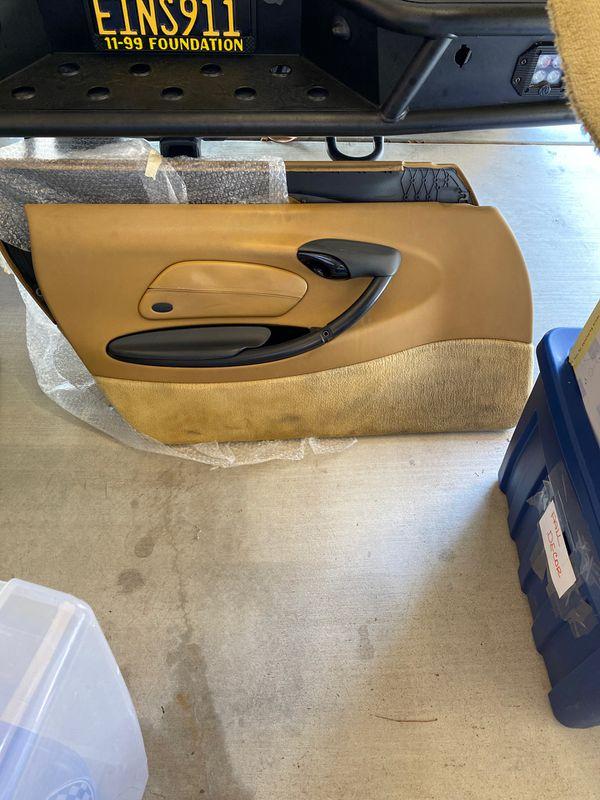Porsche Boxster 986/996 Savanna Beige door panels