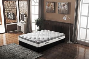 NEW IN THE BOX. ***ONLY MATTRESS*** QUEEN SIZE 10Inch MATTRESS, SKU# TC5010QM for Sale in Garden Grove, CA