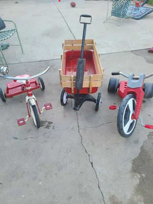 Red flyer toys. for Sale in Santa Maria, CA