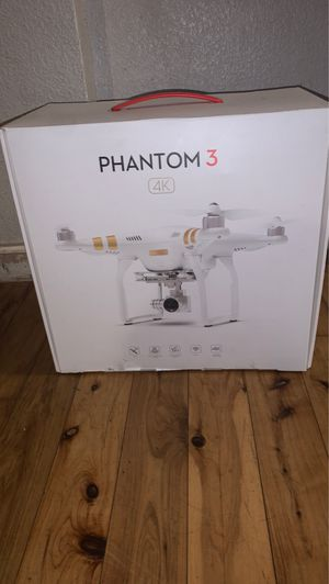Phantom 3 4K Drone for Sale in Atwater, CA