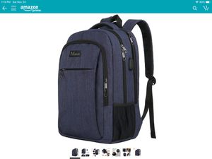 Laptop backpack with USB port for Sale in Brookline, MA