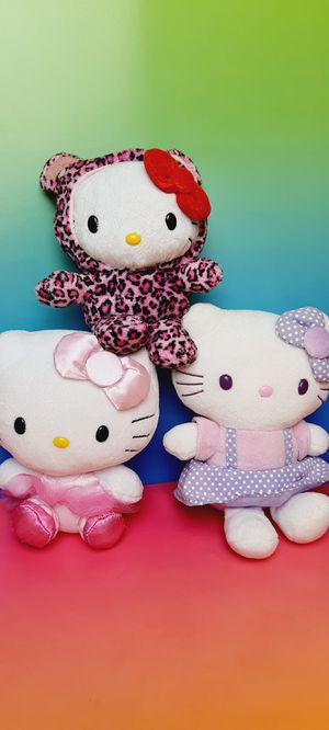 Hello Kitty 7 Inch Plush Toys for Sale in Santa Ana, CA
