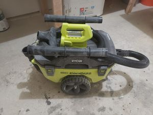CORDLESS RYOBI WET VAC for Sale in Lewisville, TX