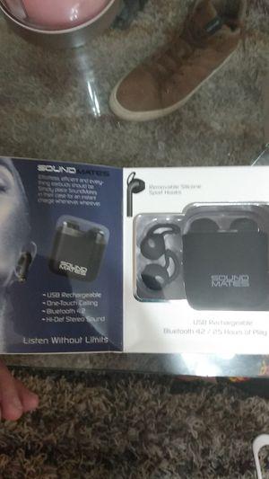 Soundmates wireless earbuds for Sale in Jacksonville, FL