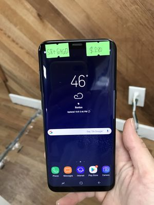 Factory unlocked Samsung Galaxy S8 Plus 64GB - $280 firm price for Sale in Renton, WA
