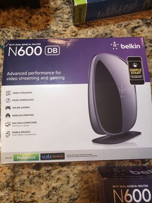 Belkin N600 Router for Sale in Miramar, FL