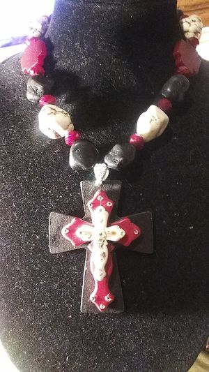 CHUNCKY CROSS NECKLACE for Sale in Brownsville, TX
