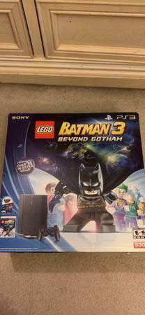 PS3 System and controller 500 GB with LEGO Batman 3 game for Sale in Burke, VA