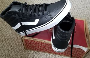 New vans black leather for Sale in Lexington, NC