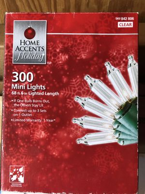 Lights 300 for Christmas for Sale in Dallas, TX